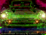 Alien Edition '57 Chevy by Catbones