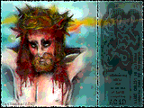 Christ in Digital Oils by Multiple Artists