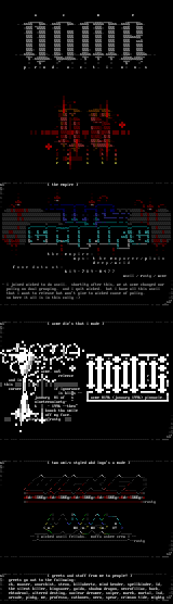 Ascii Colly by Rusty