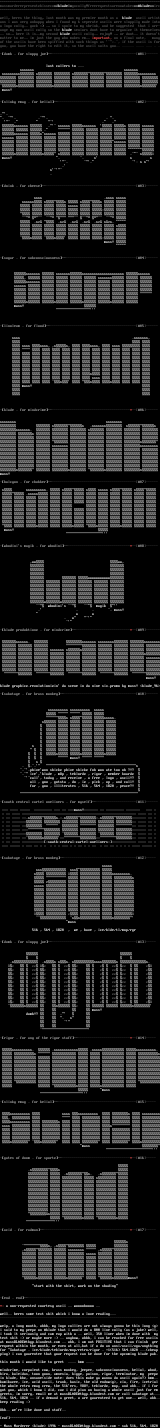 an ascii collection!?!#& by mass murderer