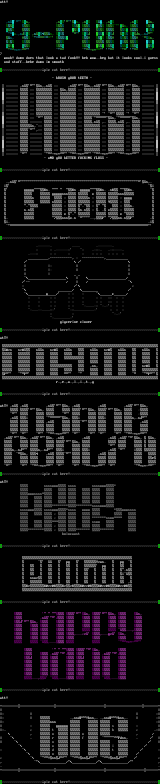 ascii colly by alienated testicle