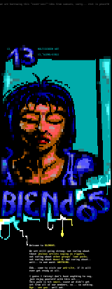 cover ansi of blend05 by ville