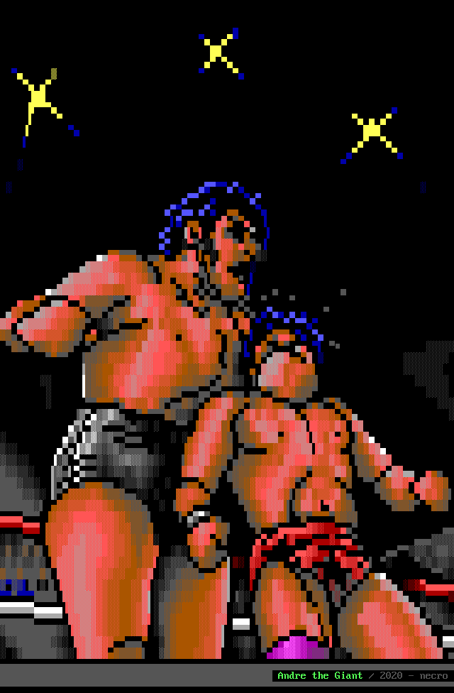 Andre the Giant by necro
