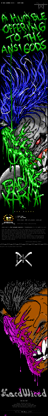 ANSi Legends: Bad Karma Remix by the textorcist