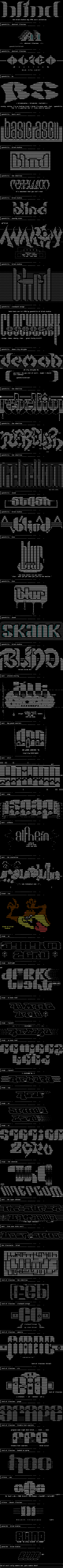 may ascii collection 'a` by Various Artists