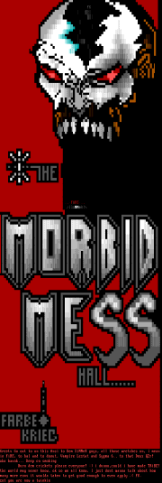 The Morbid Messhall by Farbekreig