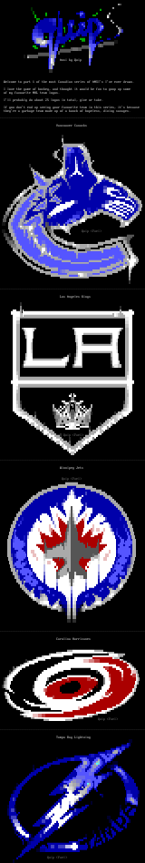 NHL Logo Colly Pt. 1 by Quip