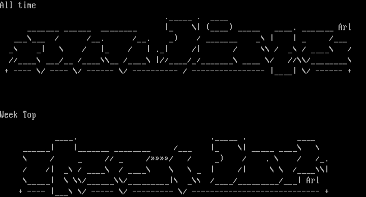 "Ascii Colly    ""Blew"" by Arlequin"