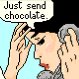 Just Send Chocolate by Emme_Doble
