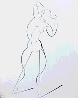 Nude Standing 2 by the Mythical Man