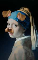 The Dog With The Pearl Earring by K-thulu+++