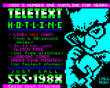 Teletext hotline by Illarterate