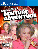 Betty White's Denture Adventure by Taffi Louis