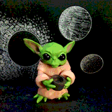 Baby Yoda by Theresa Oborn