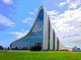 Heydar Aliyev Center by Dubaiwalla