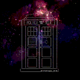 TARDIS by Littlebitspace