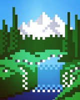 Scenery by 8bitbaba