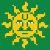 Sun by 8bitbaba