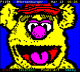 Fozzie Bear by Horsenburger