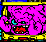 Krang by Horsenburger