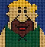 Barney Rubble by Lego_Colin