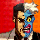 Two-Face by Farrell_Lego