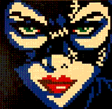 Michelle Pfeiffer as Catwoman by Lego_Colin