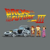 Back to the Future III by Chuppixel
