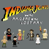 Indiana Jones and the Raiders of th by Chuppixel