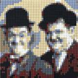 Laurel and Hardy by Lego_Colin