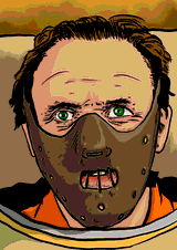Hannibal Lecter by Horsenburger
