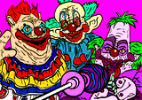 Killer Klowns from Outer Space by Horsenburger