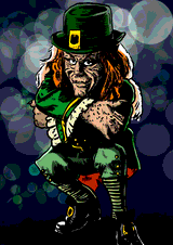 Leprechaun by Horsenburger