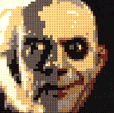 Christopher Lloyd as Uncle Fester by Lego_Colin