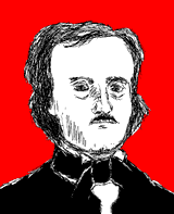 Edgar Allan Poe by The Elk
