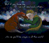 The Little Prince and the Fox by Etana