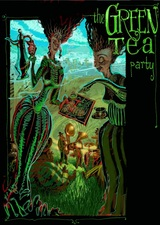 the Green Tea party by Mister Fire-Man