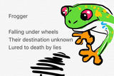 #GamingHaikus 21 - Frogger by Bhaal_Spawn