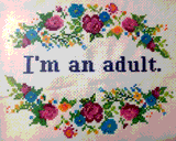 I'm An Adult by Morgan Lee