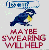 Maybe Swearing Will Help by Morgan Lee