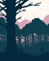 Cold Trees by Pixel_Art_For_The_He