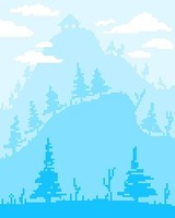Winter Hill by Pixel_Art_For_The_He