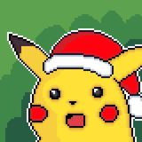 Pika Claus by Pixel_Fart