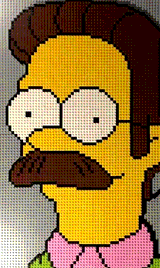 Ned Flanders by Farrell_Lego