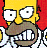 Angry Homer by Lego_Colin