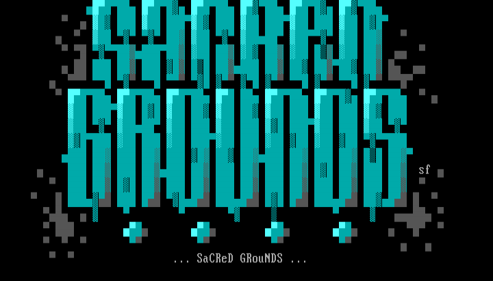 Sacred Grounds Ansi by Speed Freak
