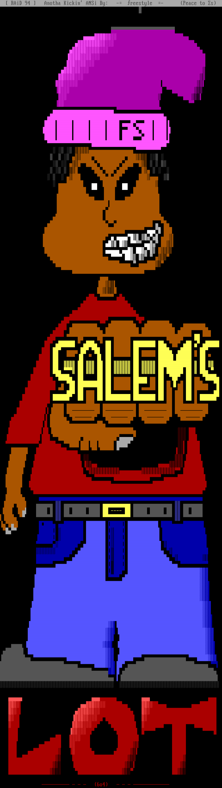 Salem's Lot by Freestyle