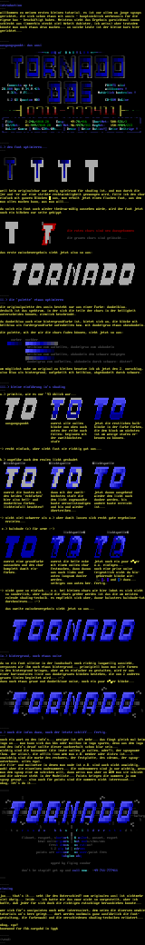 small ansi-tut for ops by bonewood