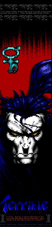 Terrible (ANSi!) Lie by TafkaSk