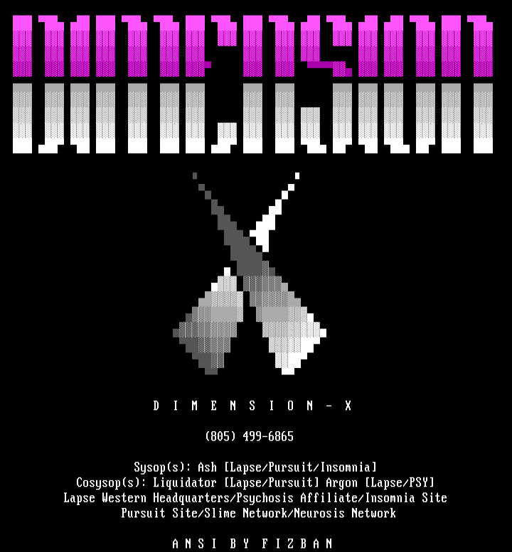 Dimension X by Fizban